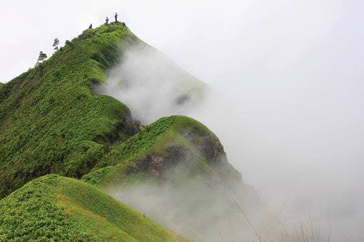 เขาช้างเผือก เป็นยอดเขาที่สุดของอุทยานแห่งชาติทองผาภูมิ จ.กาญจนบุรี มีความสูงประมาณ 1,249 เมตร เป็นเส้นทางเดินป่าจากหมู่บ้านอีต่องไปยอดเขาช้างเผือก