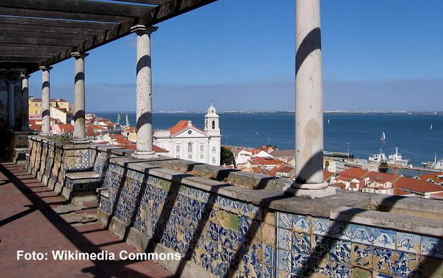 Miradouro de Santa Luzia, Lisboa