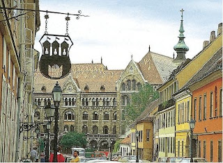 Венгрия Будапешт улица Фортуны