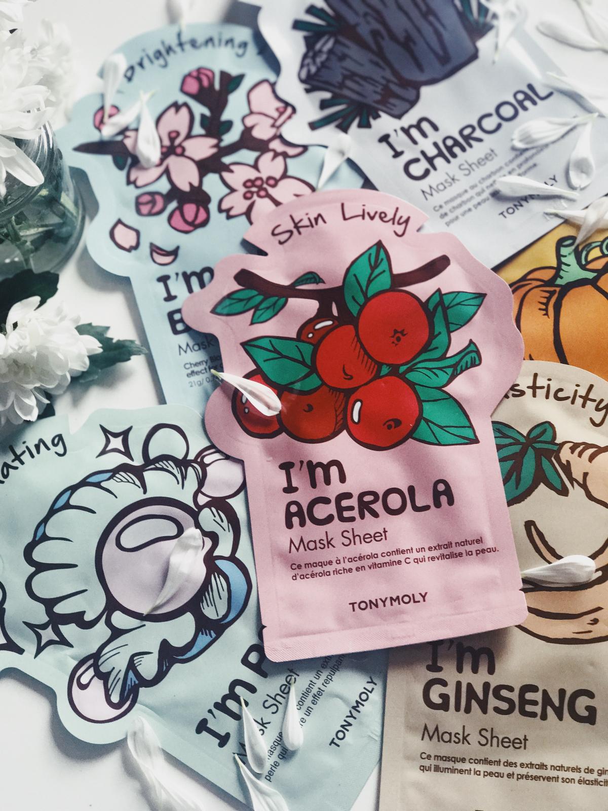 The New Tony Moly Sheet Masks Review