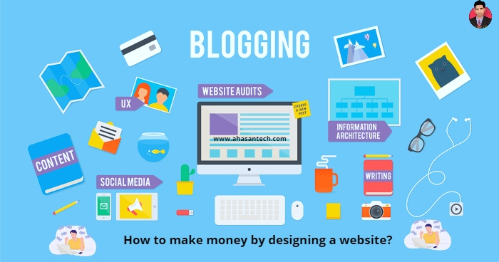 How to make money by designing a website?