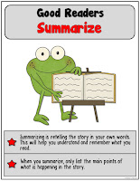 Summarize when reading