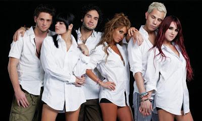 Foto do elenco de Rebelde reunido