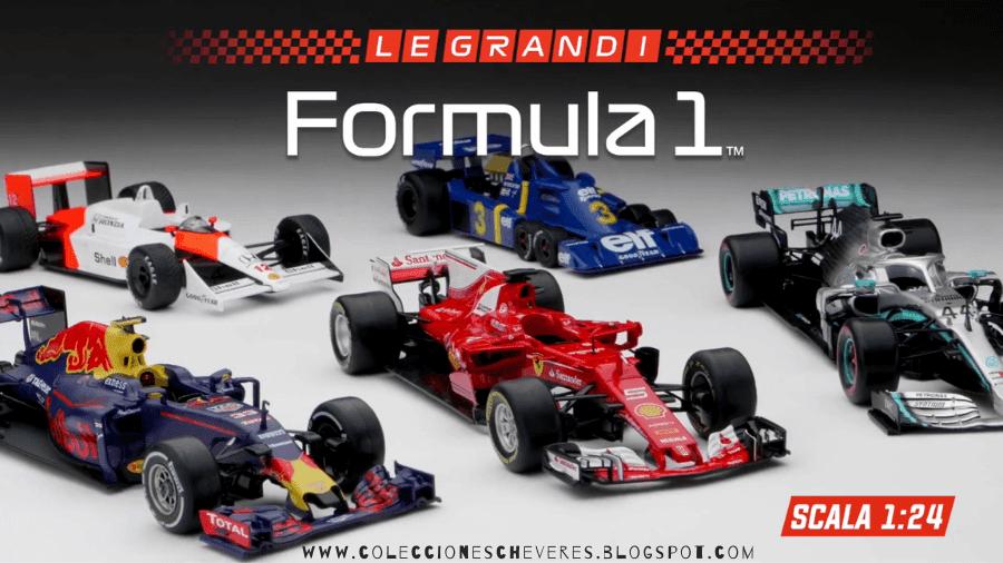 Le grandi Formula 1 1:24 centauria