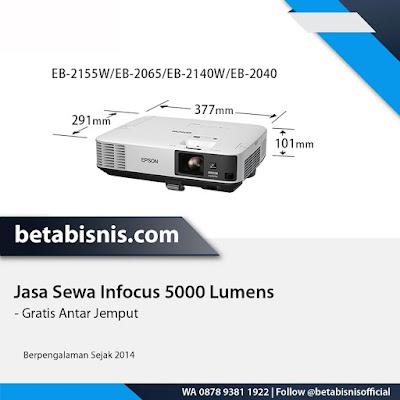yang menyewakan infocus 5000 lumens di Pekanbaru