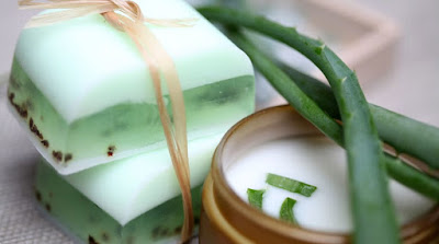 Aloe Vera Soap To Remove Acne And Wrinkles
