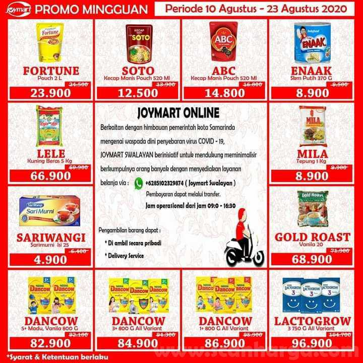 Katalog Joymart Swalayan Promo Mingguan 10 - 23 Agustus 2020 1