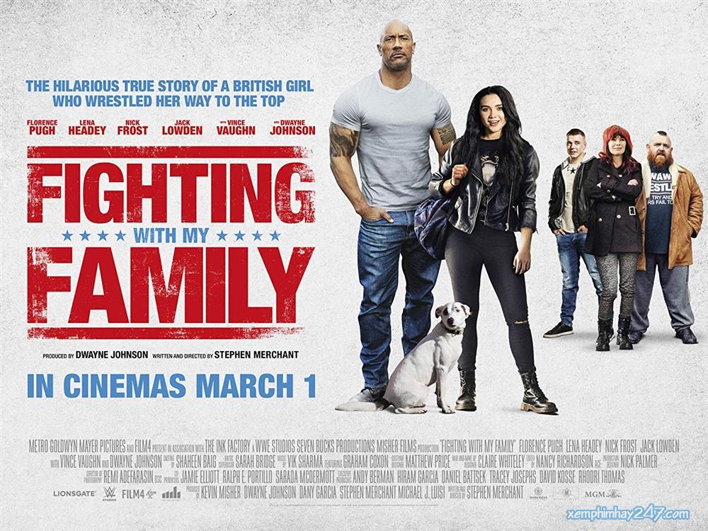 http://xemphimhay247.com - Xem phim hay 247 - Gia Đình Đại Chiến (2019) - Fighting With My Family (2019)