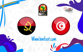ملخص مباراة تونس ضد أنغولا مباشرة في كأس أمم افريقيا 2019