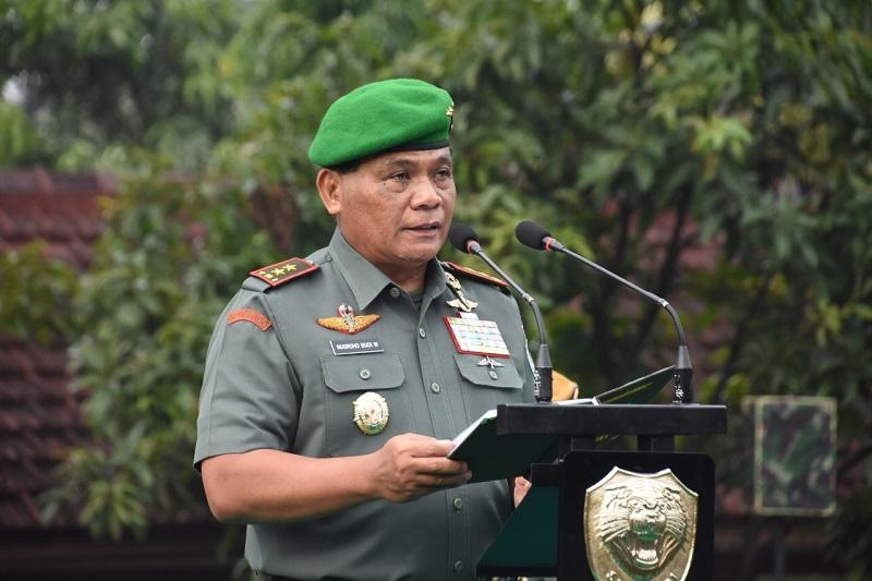 Pangdam III/ Siliwangi : Prajurit Dan PNS TNI AD Agar Senantiasa Menjaga Kesehatan Diri Serta Keluarganya.