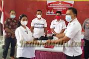 Camat Sonny Makaenas Pimpin Sertijab Penjabat Hukumtua Desa Tewasen