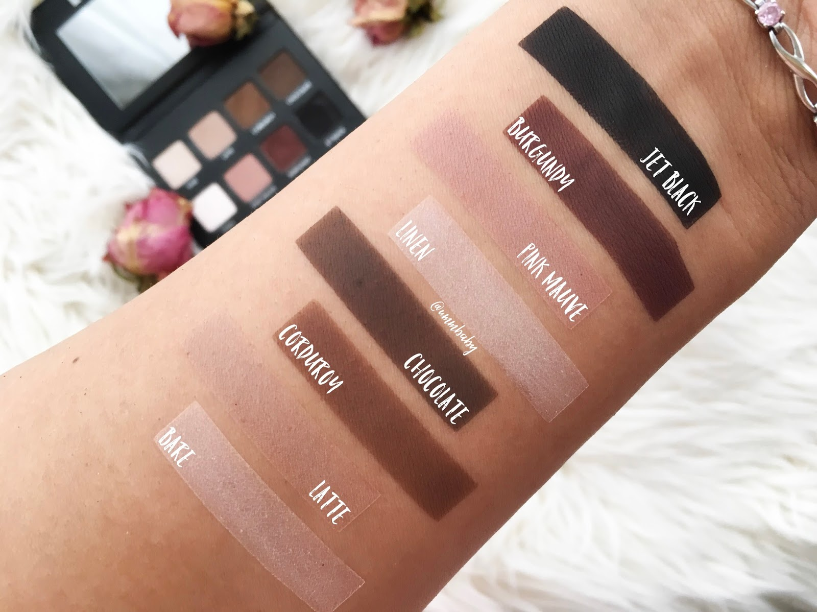 lorac pro matte palette swatches, lorac pro matte eye palette swatches makeup stencil, lorac pro matte swatches, lorac pro matte palette medium skin nc40 swatches, swatch perfect uk swatches