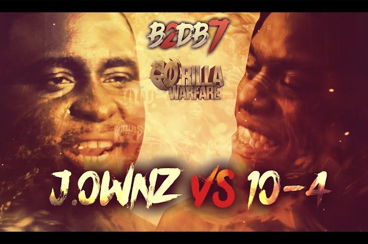 GO-RILLA WARFARE Presnets: J.Ownz vs 10-4