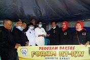 Forum RT-RW Jakarta-Barat, Berikan Bantuan Pada Warga Korban Kebakaran di Keagungan
