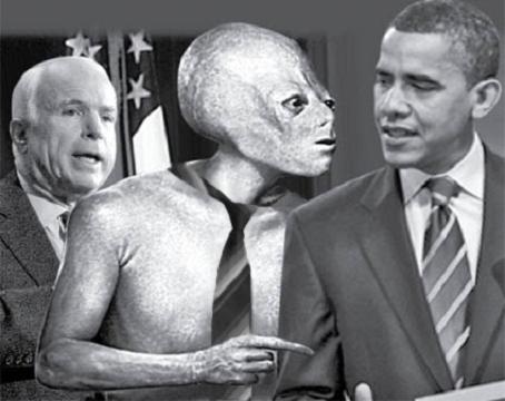Alien President