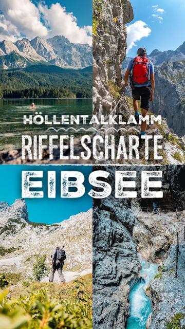 Höllentalklamm - Riffelscharte - Eibsee  Wandern in Garmisch-Partenkirchen 22