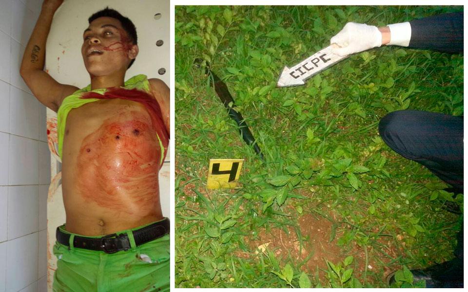Abatido y muerto por la policia en Mercedes de Llano homicida peligroso