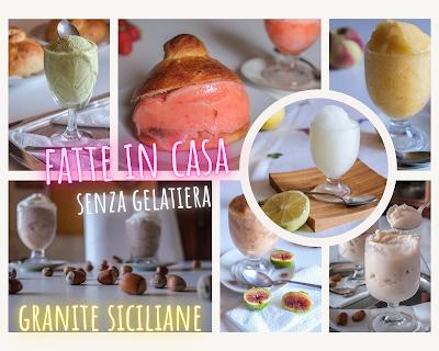Granita siciliana senza gelatiera