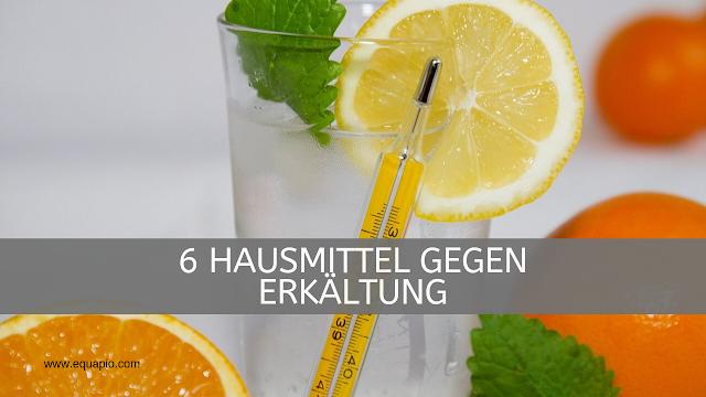 Zitrone, Orange & Co - das hilft gegen Erkaeltungen