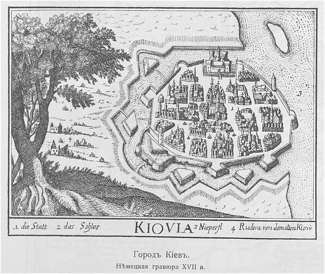 Речная крепость Самбатас на Днепре под Киевом