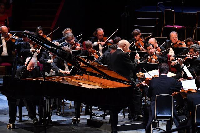 Prom 60 - Emmanuel Ax, Bernard Haitink, Vienna Philharmonic Orchestra - BBC Proms (Photo BBC / Chris Christodoulou)