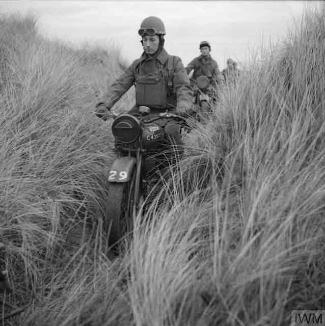 British motorcycle troops in training, 6 December 1941 worldwartwo.filminspector.com