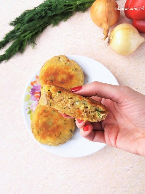 Kotlety ziemniaczane z mięsem mielonym przepis