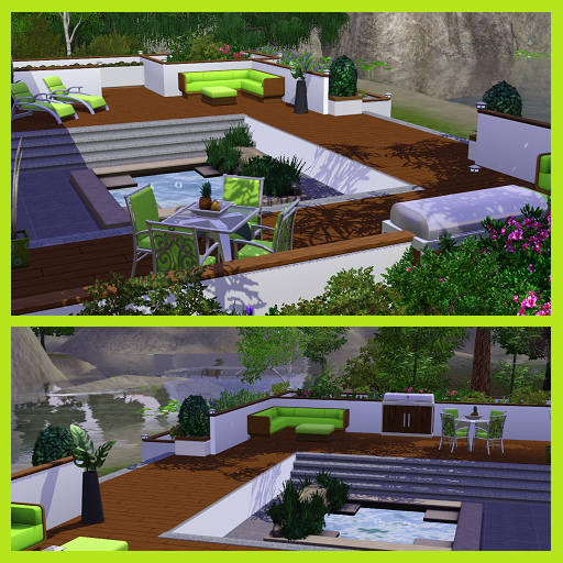 Dippy Designs: The Chirico ~Modern Split Level House