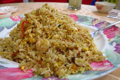 Lao You Ji, sambal fried rice