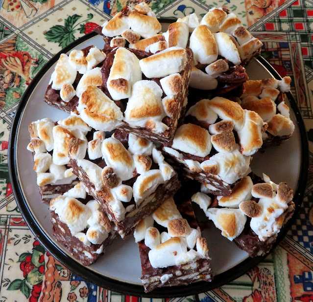 S'mores Rocky Road