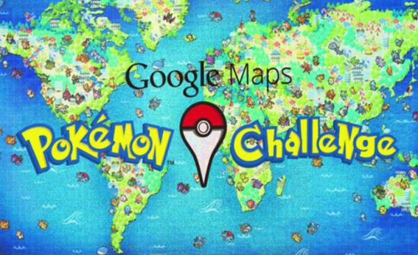 Google Maps ready to create the next Pokemon Go Challenge