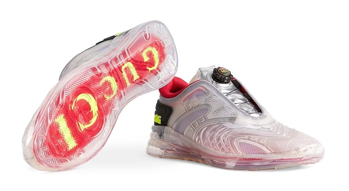 Gucci Transparent Ultrapace R-The Translucent Rubber Shoes