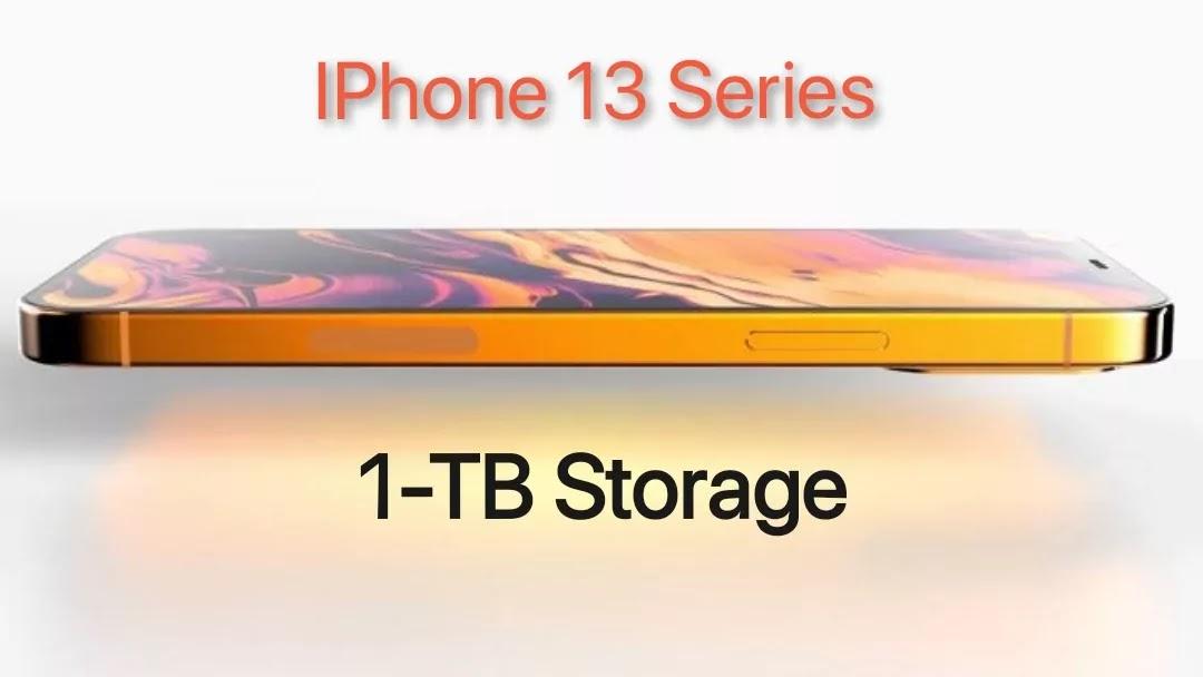 iPhone 13 vs iPhone 12 Storage