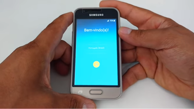Aprenda como Desbloquear a Conta Google dos aparelhos Samsung Galaxy J1 mini, SM-J105, J105B, J105M, J106B.