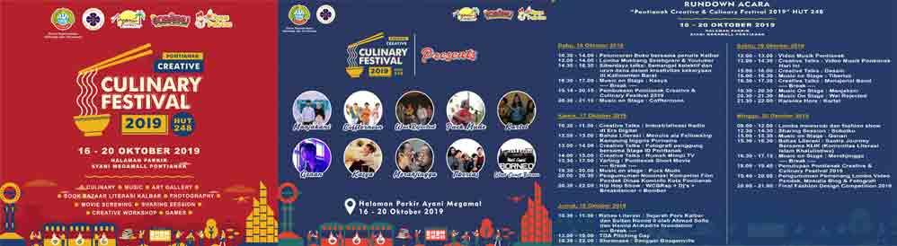 Pontianak Creative Culinary 2019