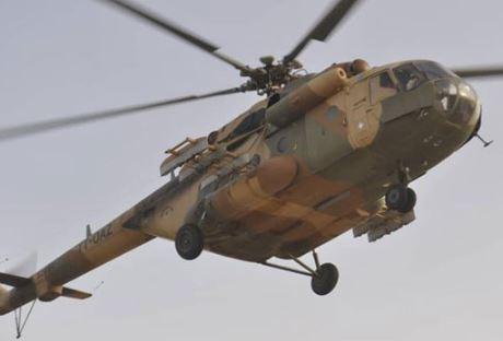 Nigerian Airforce helicopter crash-lands at Yar'adua International Airport In Katsina State