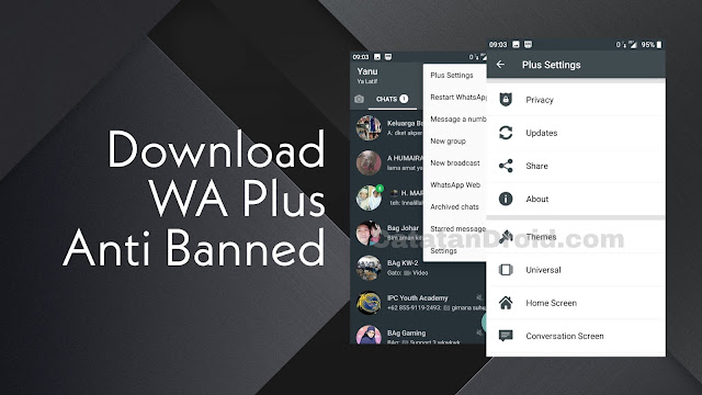 Fitur-fitur terbaru aplikasi wa plus mod
