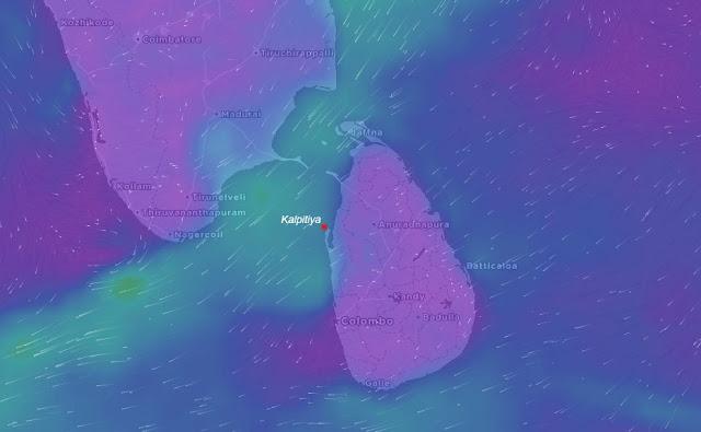 Sri Lanka Kitesurf Kalpitiya
