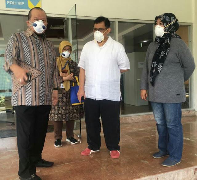 DPD RI Intensif Pantau Kondisi Daerah di Tengah Pandemi Covid-19