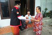 Waketum LSM SIGAB Turun Kejalan Berbagi Masker di Jakarta Utara
