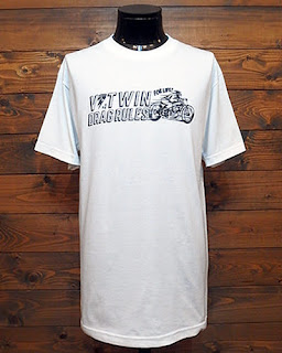 V-Twin Drag Association Tシャツ Drag Rules