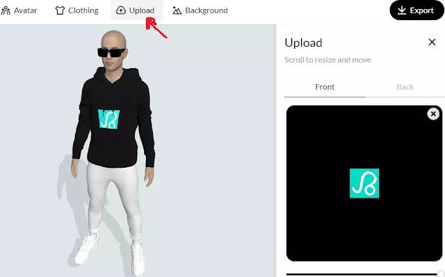 Cara Membuat Desain Baju & T-Shirt 3D Mockup-3