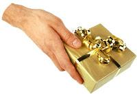 Como entregar un regalo