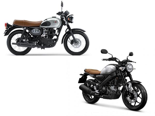 Kawasaki W175 vs Yamaha XSR155