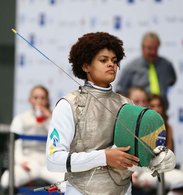 Bia Bulcão  Ana Beatriz Bulcão Brasil Esgrima pré-olímpico