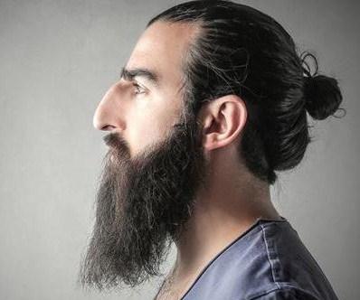 Karakter Pria Hidung Besar