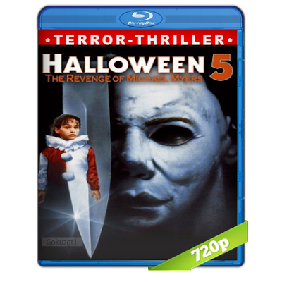 Halloween 5 (1989) BRRip 720p Audio Trial Latino-Castellano-Ingles 5.1