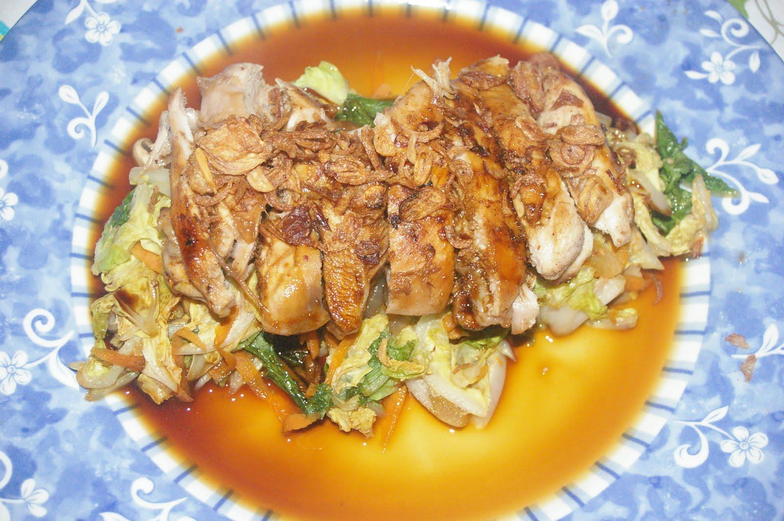 how to make wombok salad