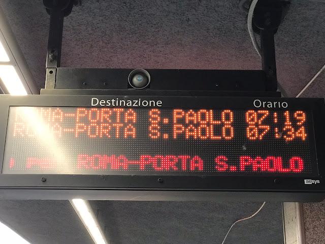 La Roma-Lido ai tempi della Pandemia