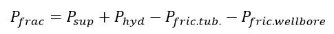 Mecánica de Roca aplicada al Fracturamiento Hidráulico - Ecuación de Presión de Fractura